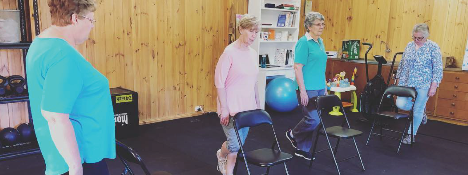Over 60s Group Fitness